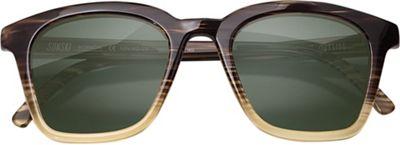 Sunski Moraga Sunglasses - One Size - Stripe / Tortoise / Forest