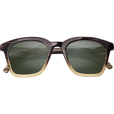 Sunski Moraga Sunglasses - Stripe / Tortoise / Forest