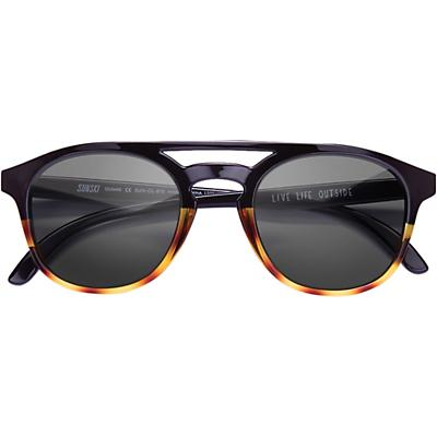 Sunski Olema Sunglasses - Black / Tortoise / Slate