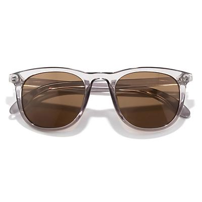 Sunski Seacliff Sunglasses - Mist / Brown