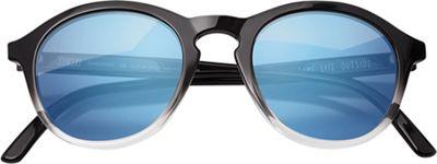 Sunski Singlefin Sunglasses - One Size - Black / Aqua
