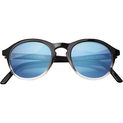 Sunski Singlefin Sunglasses - Black / Aqua