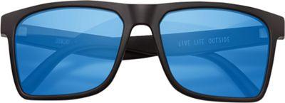 Sunski Taraval Sunglasses - One Size - Black / Aqua