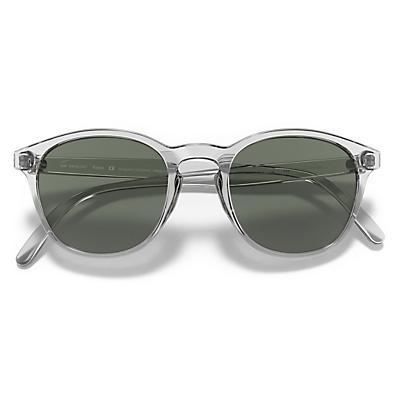 Sunski Yuba Sunglasses - Clear/Forest
