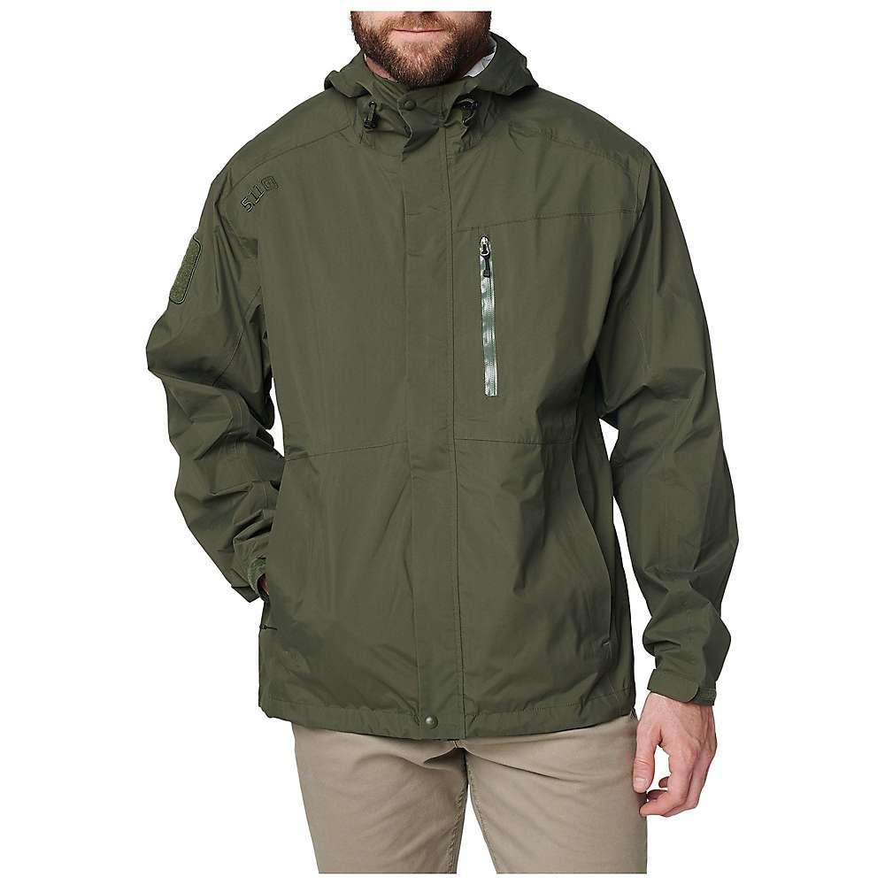 5.11 Men's Aurora Shell Jacket - Medium - Moss thumbnail