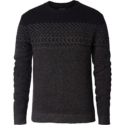 Royal Robbins Mens Banff Novelty Sweater - Jet Black