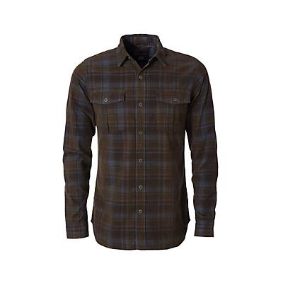 Royal Robbins Mens Covert Cord LS Shirt - Loden