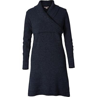 Royal Robbins Womens Frost LS Sweater Dress - Navy