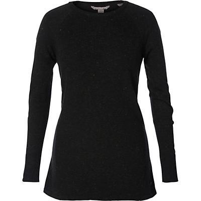 Royal Robbins Womens Highlands Pullover - Dark Spruce Heather