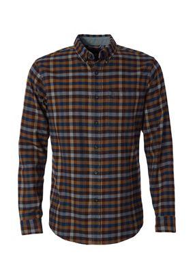 Royal Robbins Mens Lieback Flannel LS Shirt - Large - Mahogany