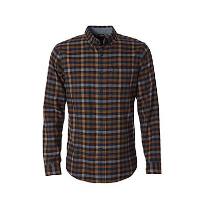 Royal Robbins Mens Lieback Flannel LS Shirt - Mahogany