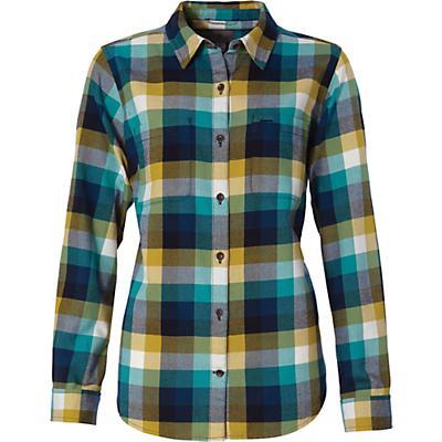 Royal Robbins Womens Lieback LS Flannel Shirt - Rhubarb
