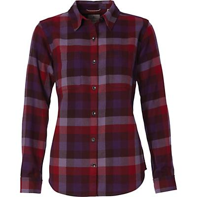 Royal Robbins Womens Lieback LS Flannel Shirt - Harbor