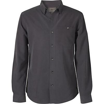 Royal Robbins Mens Mojave Pucker Dry LS Shirt - Asphalt