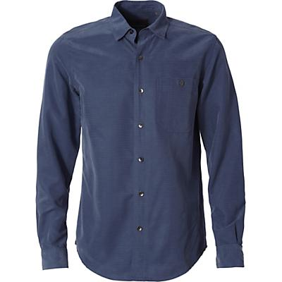 Royal Robbins Mens Mojave Pucker Dry LS Shirt - Collins Blue