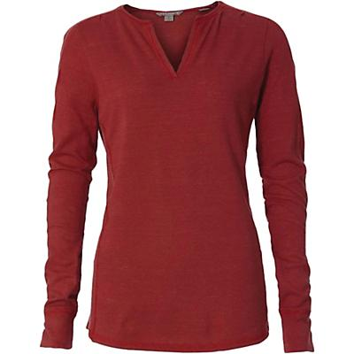 Royal Robbins Womens Mountain Henley - Brick Red