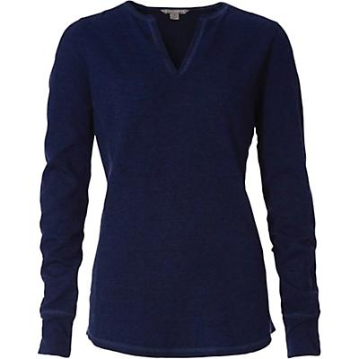 Royal Robbins Womens Mountain Henley - Twilight Blue