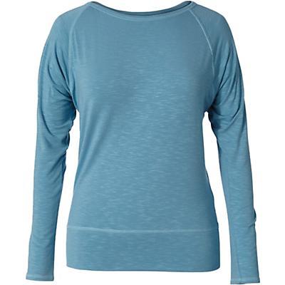 Royal Robbins Womens Noe LS Top - Frost Blue