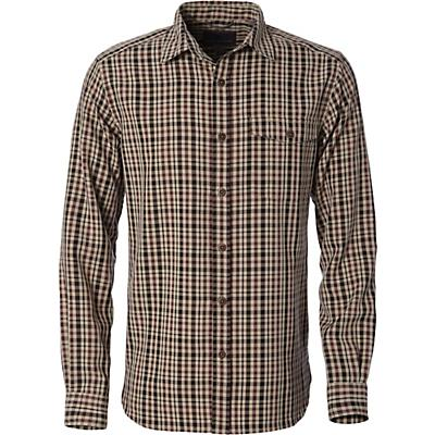 Royal Robbins Mens Sonora Plaid LS Shirt - Cedar