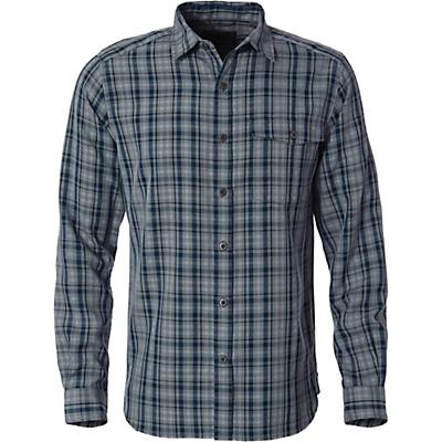 Royal Robbins Mens Sonora Plaid LS Shirt - LT Slate