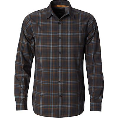 Royal Robbins Mens Trouvaille Plaid LS Shirt - Slate
