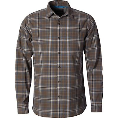 Royal Robbins Mens Trouvaille Plaid LS Shirt - Falcon