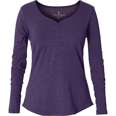 Royal Robbins Womens Yosemite LS Top - Dewberry Heather