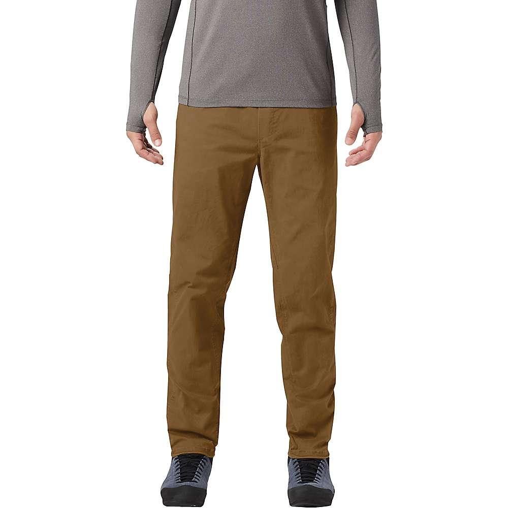 Reviews Mountain Hardwear Mens Cederberg Pull On Pant - XL Regular - Golden Brown