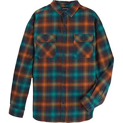 Burton Brighton Flannel Shirt - Antique Green Bad Hombre Plaid - Men
