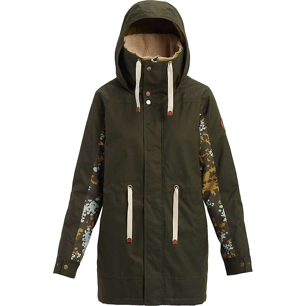 Burton Women's Hazelton Jacket - Medium - Forest Night / Wheeler Camo thumbnail