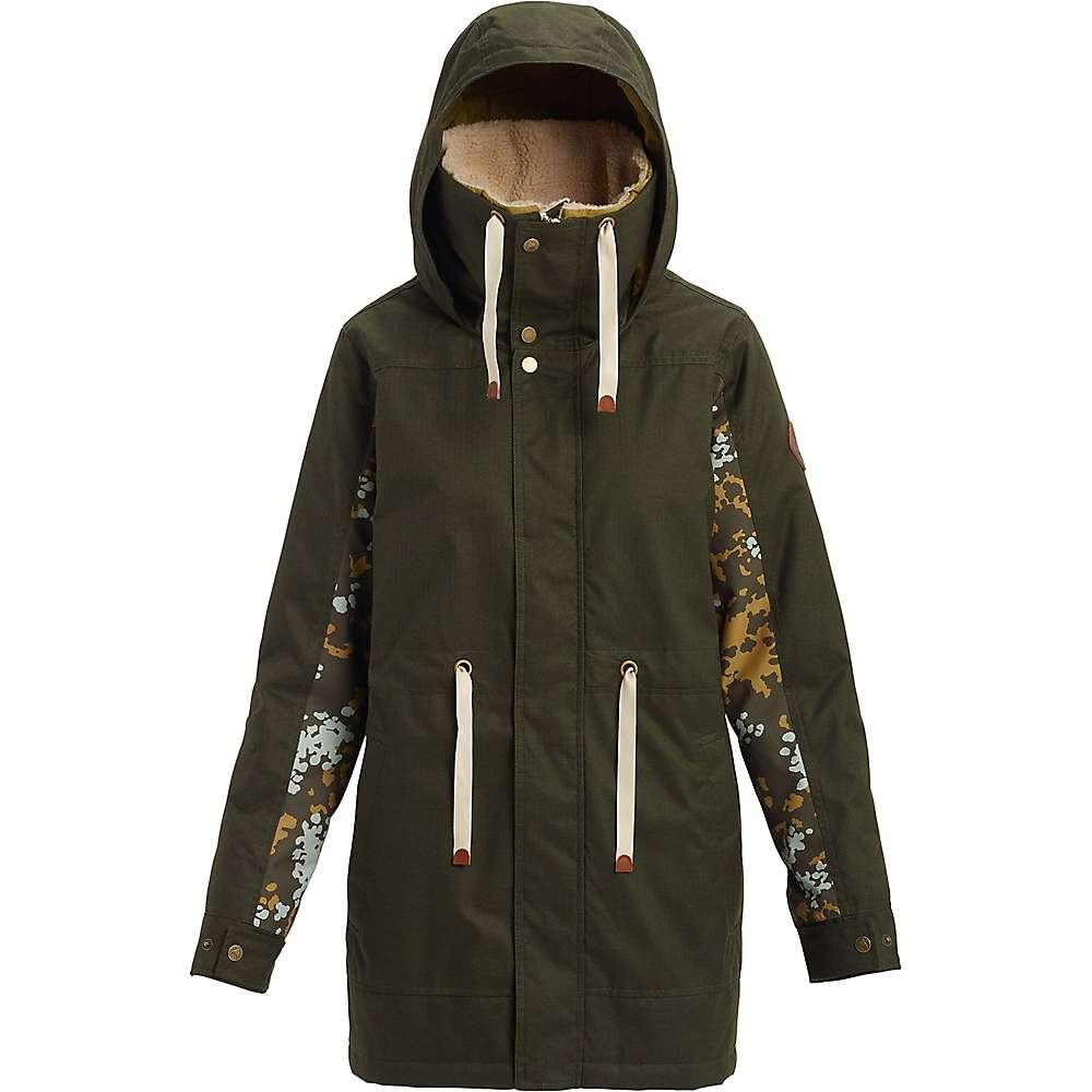 Burton Women's Hazelton Jacket - Large - Forest Night / Wheeler Camo thumbnail