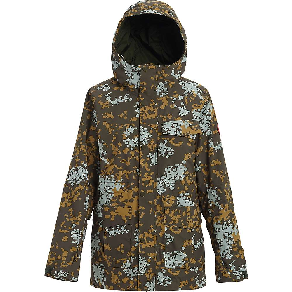 Burton Women's Runestone Jacket - Small - Wheeler Camo thumbnail