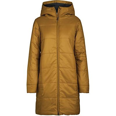 Icebreaker Collingwood 3Q Hooded Jacket - Curry - Women