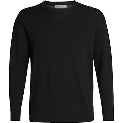 Icebreaker Carrigan Reversible Sweater Sweatshirt - Black - Men
