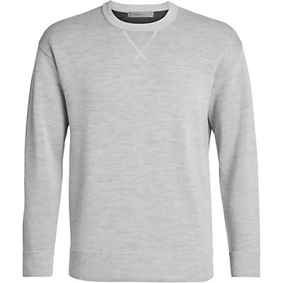 Icebreaker Carrigan Reversible Sweater Sweatshirt - Steel Heather - Men