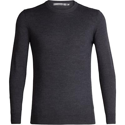 Icebreaker Shearer Crewe Sweater - Char Heather - Men
