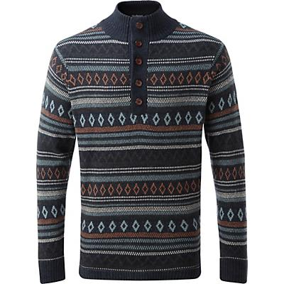 Sherpa Dhaka Pullover - Rathee Blue - Men