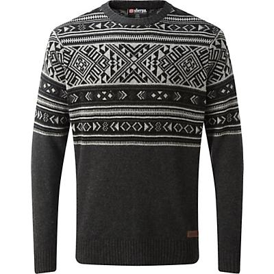 Sherpa Nathula Crew Sweater - Kharani Grey - Men