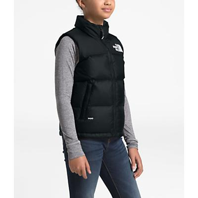 The North Face Youth 1996 Retro Nuptse Down Vest - TNF Black