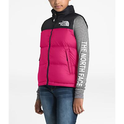 The North Face Youth 1996 Retro Nuptse Down Vest - Mr. Pink