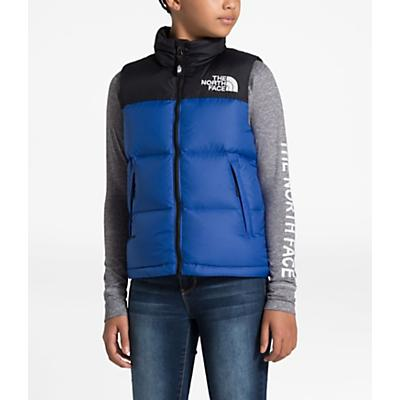 The North Face Youth 1996 Retro Nuptse Down Vest - TNF Blue