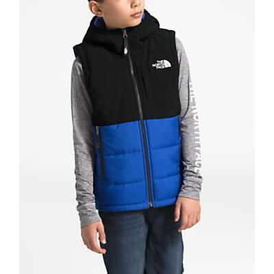 The North Face Youth Balanced Rock Insulated Hooded Vest - TNF Blue
