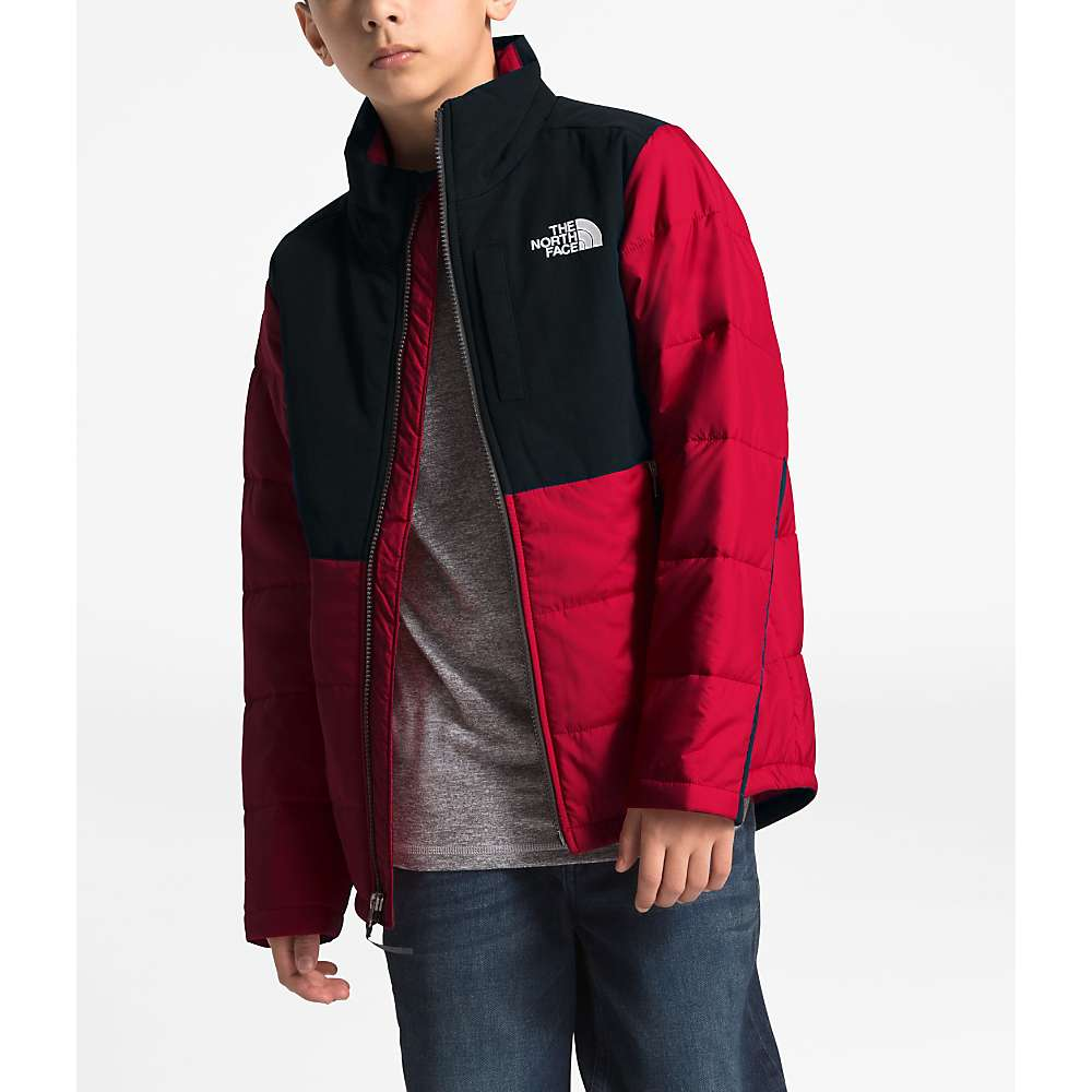 The North Face Youth Balanced Rock Insulated Jacket - Large - TNF Red