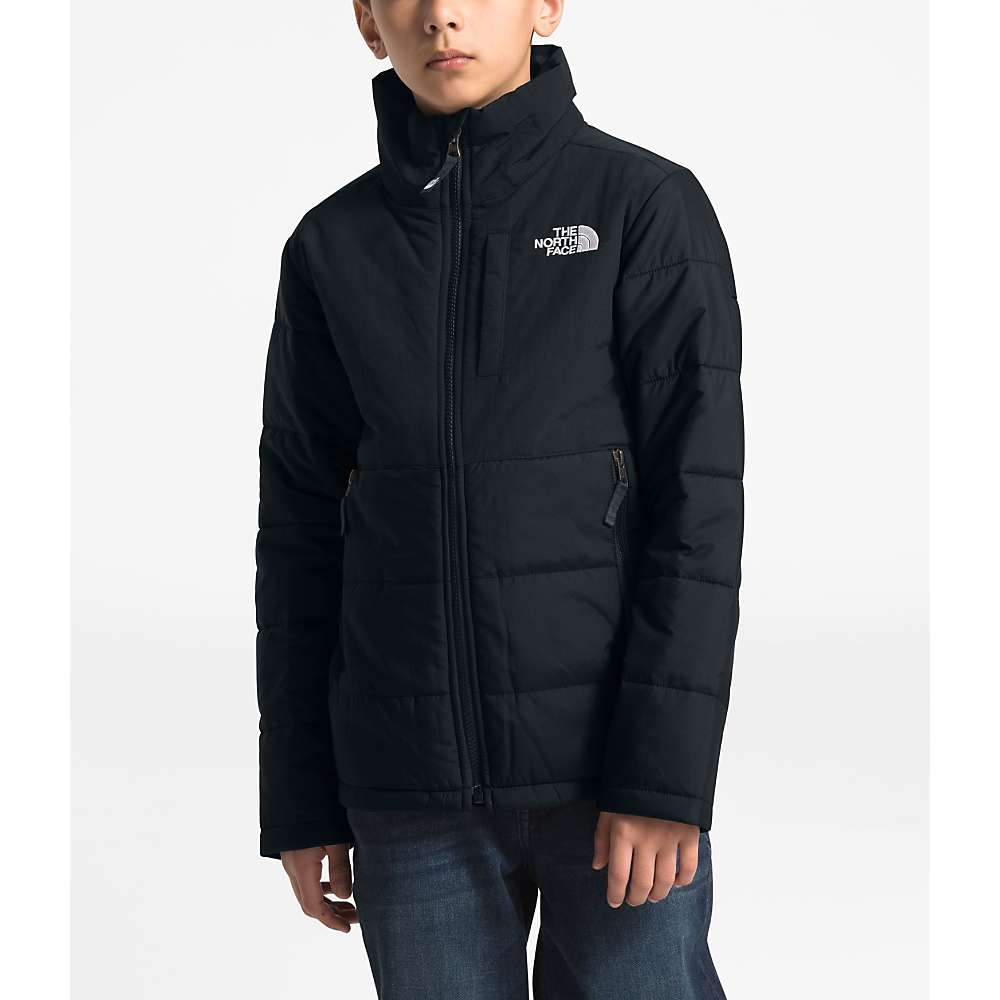 The North Face Youth Balanced Rock Insulated Jacket - Large - TNF Black
