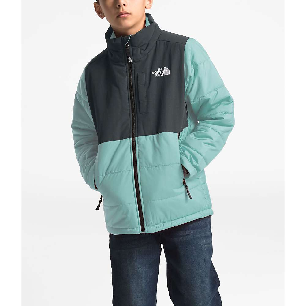 The North Face Youth Balanced Rock Insulated Jacket - Small - Windmill Blue