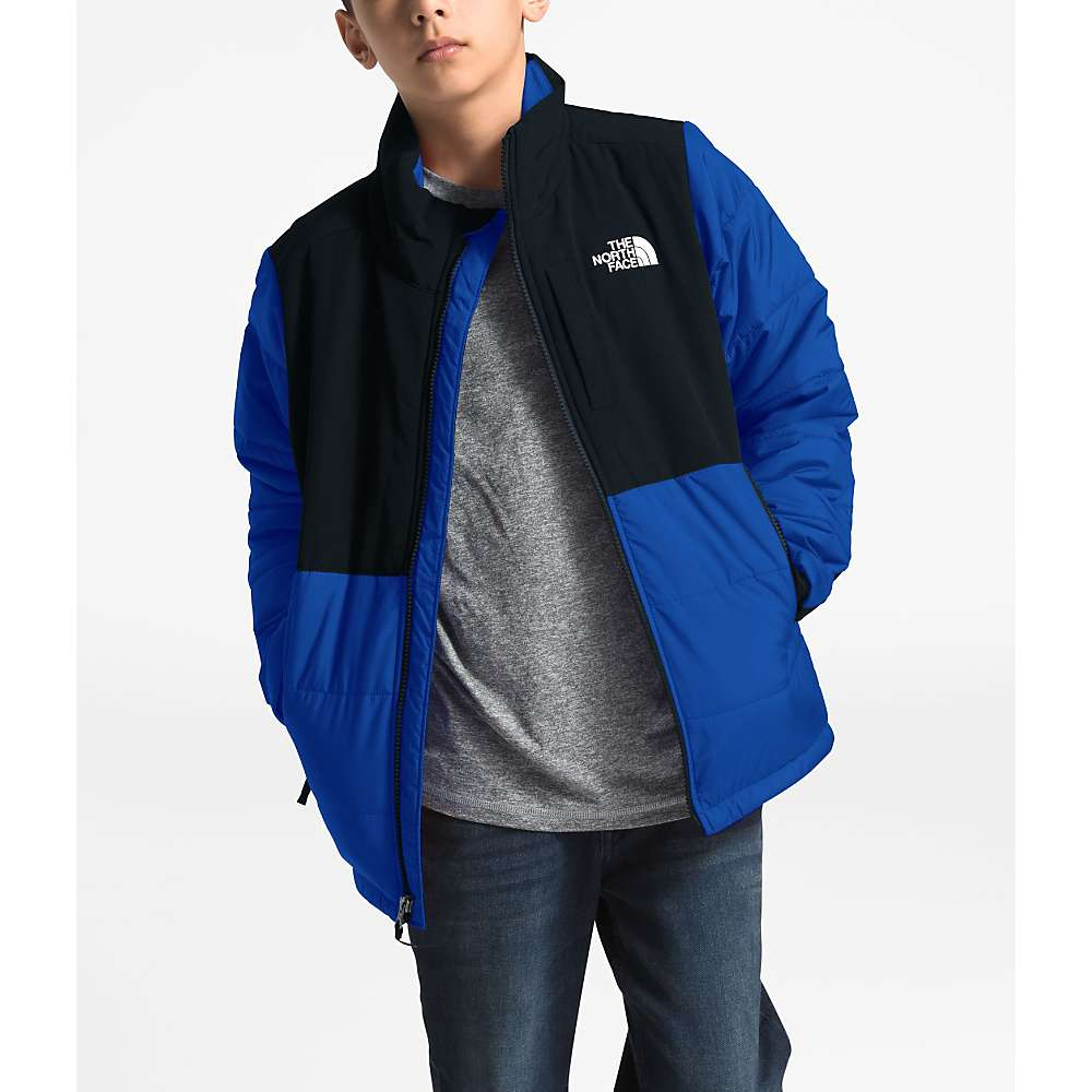 The North Face Youth Balanced Rock Insulated Jacket - Large - TNF Blue