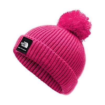 The North Face Baby Box Logo Pom Beanie