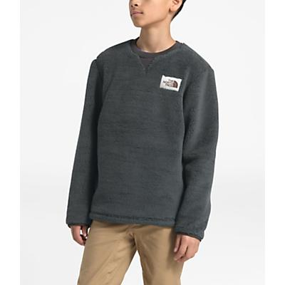 The North Face Youth Campshire Crew Top - Asphalt Grey
