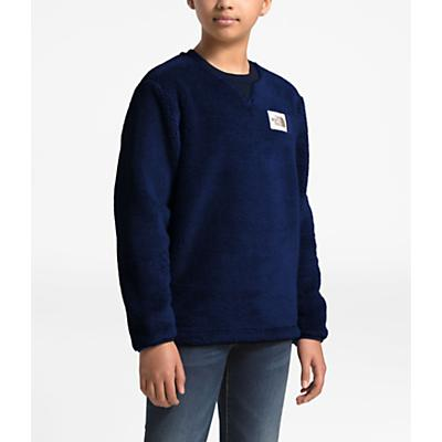 The North Face Youth Campshire Crew Top - Montague Blue