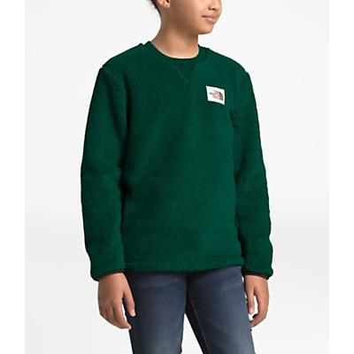 The North Face Youth Campshire Crew Top - Night Green